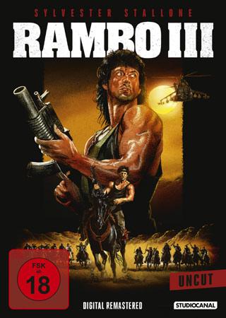 Rambo III DVD Cover