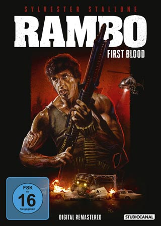 Rambo deutsches DVD Cover