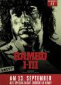 Rambo I-III Kino-Event-Poster