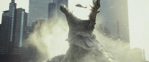 Rampage – Big Meets Bigger riesiger Aligator Lizzie