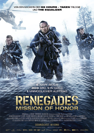 Renegades – Mission of Honor deutsches Filmposter