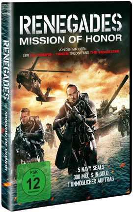 Renegades deutsches DVD Cover