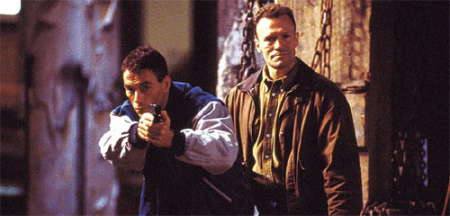 Replicant mit Van Damme und Michael Rooker