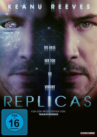 Replicas DVD Cover