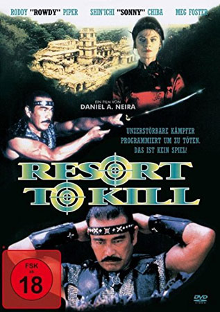 Resort to Kill Cover der deutschen DVD