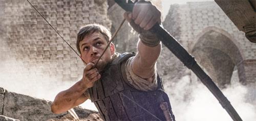 Robin Hood mit Taron Egerton