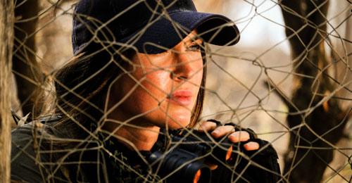 "Megan Fox als Samantha in ""Rogue Hunter"""
