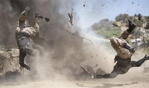 Action im Wüstenactioner