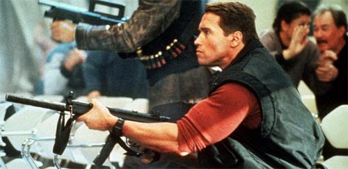 Running Man mit Arnold Schwarzenegger
