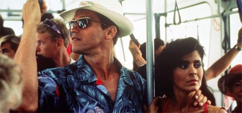 Running Man mit Arnold Schwarzenegger und Maria Conchita Alonso