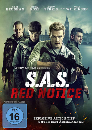 SAS: Red Notice mit Sam Heughan im Actionmodus