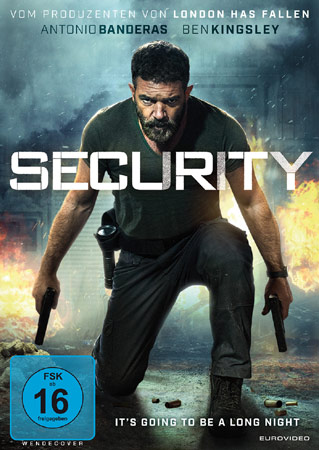 Security Deutsches DVD Cover