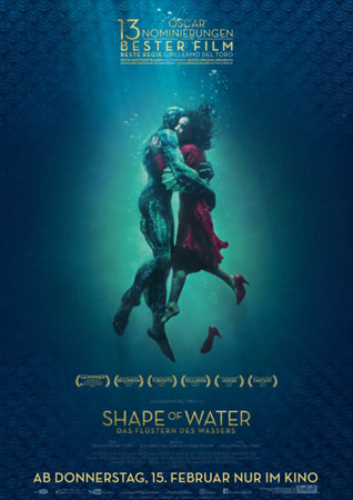 Shape of Water Poster zum Film