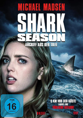 Shark Season mit Michael Madsen DVD Cover