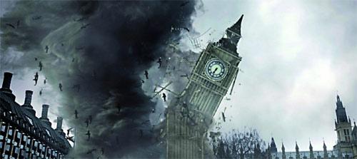 Sharknado 5 Global Swarming Big Ben