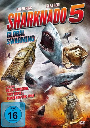 Sharknado 5 Deutsches DVD Cover