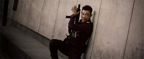Shock Wave mit Andy Lau in Action