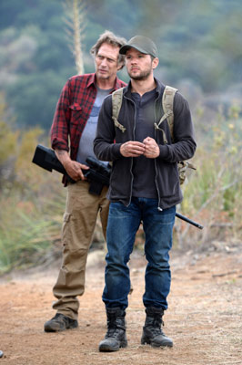 William Fichtner und Ryan Phillippe in Shooter