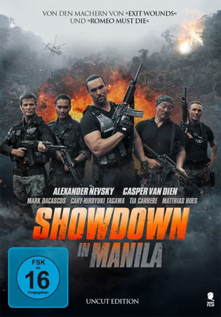 Showdown in Manila DVD Cover