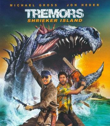 Tremors 7 - Shrieker Island Cover