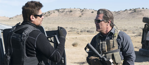 Sicario mit Josh Brolin und Benicio Del Toro