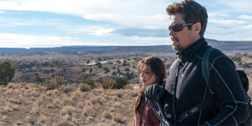 Sicario 2 mit Isabela Moner und Benicio Del Toro