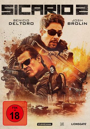 Sicario 2 dvd cover