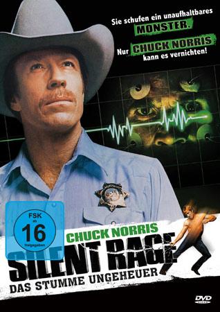 Silent Rage - Das stumme Ungeheuer DVD Cover