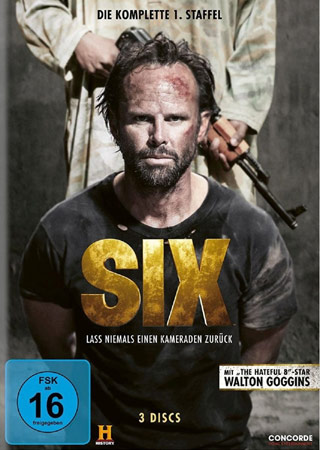 Six Deutsches DVD Cover