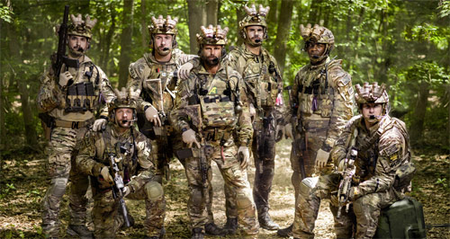 Six Gruppenfotos aller Navy Seals