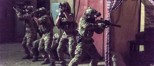 Six Navy Seals in Action