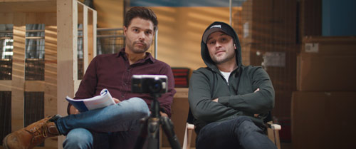 Skin Creepers Daniel und Ben beim Casting