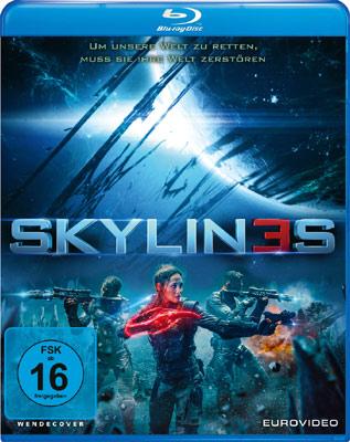 Skylines mit Daniel Bernhardt Blu-ray