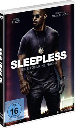 Sleepless - Eine tödliche Nacht DVD Cover