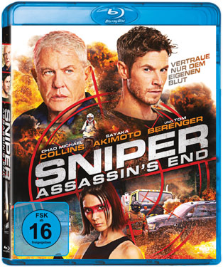 Sniper: Assassin's End mit Tom Berenger Blu-ray-Cover