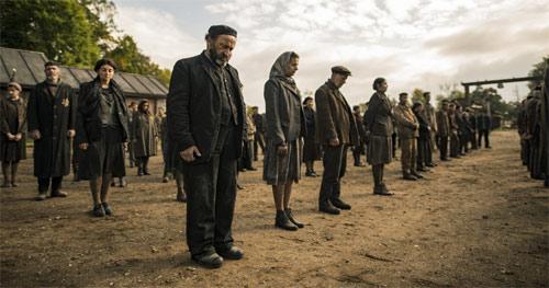Sobibor Gefangene im Vernichtungslager