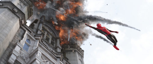 Spider-Man: Far From Home mit Tom Holland in Action