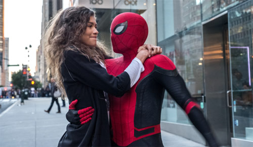 Spider-Man: Far From Home mit Tom Holland und Zendaya