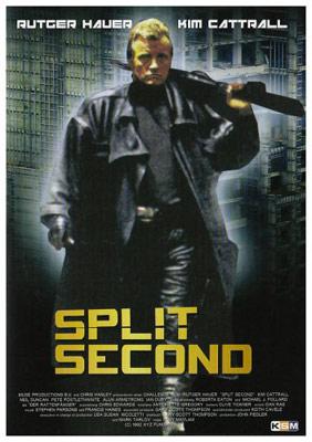 """Rutger Hauer jagt seinen persönlichen Predator in """"Split Second""""."""