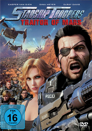 Starship Troopers: Traitor of Mars DVD Cover