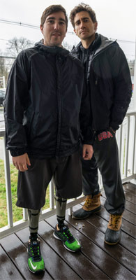 Stronger Jake Gyllenhaal mit Jeff Bauman