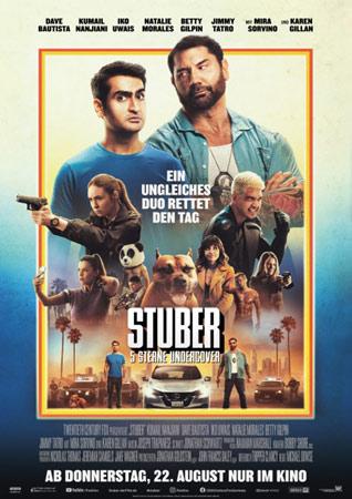 Stuber mit Dave Bautista Poster