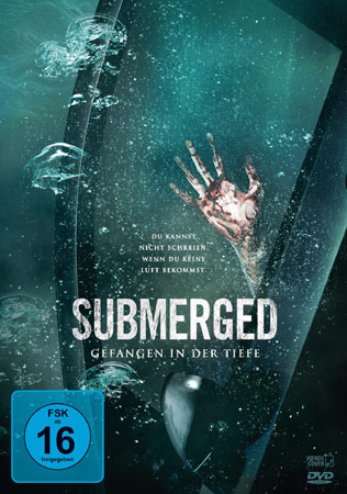Submerged DVD Cover zum Thriller