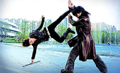 Super Bodyguard Action mit und von Yue Song