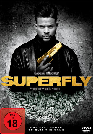 Superfly von Joel Silver DVD Cover