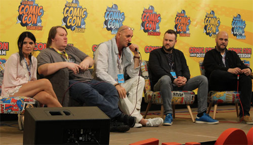 Special zur Synchronisation Comic Con Panel