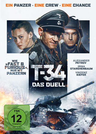 T-34 - Das Duell DVD Cover