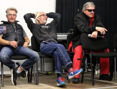Martin Semmelrogge, Ralf Richter und Claude-Oliver Rudolph bei der Astronomicon