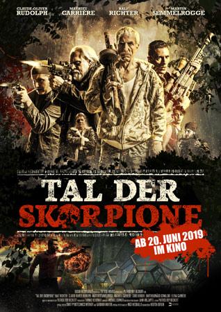 Tal der Skorpione deutsches Poster zum Kinostart
