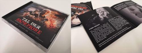 Tal der Skorpione Soundtrack CD